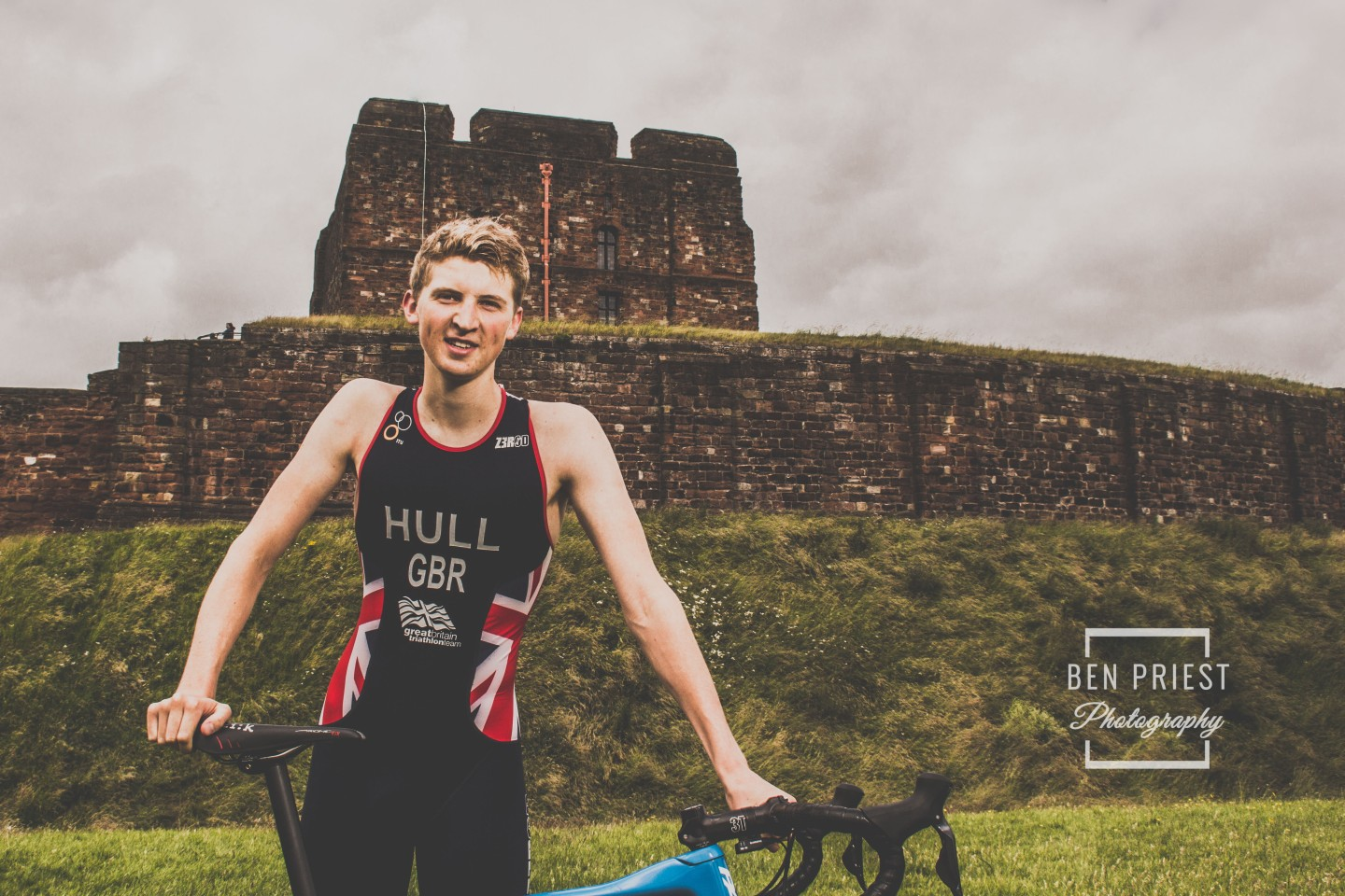 Team GB Triathlete – Jordan Hull – Cumbrian Ambassador for the World Health Innovation Summit no.1